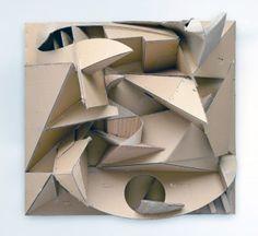 Florian_Baudrexel_phony_cardboard-relief_2011