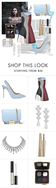 """Victoria Beckham"" by cecilvenekamp ❤ liked on Polyvore featuring Victoria Beckham, ALDO, Saks Fifth Avenue and Verdura"