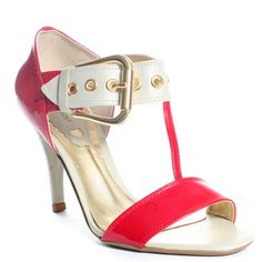 CINDY SAYS : SOHO HEEL - RED
