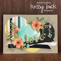 CTC #135 – A Whole lot of Lovely – Krissy B. Cards & Craft