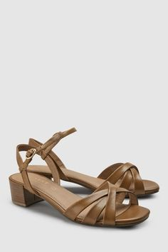 newest 1e296 4e382 Womens Next Tan Forever Comfort City Sandals - Brown. Buy ...