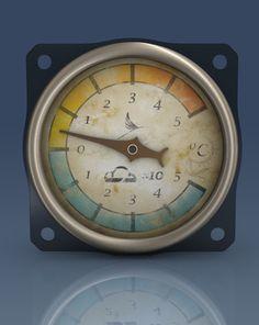 STEAMPUNK dial gauges on Behance