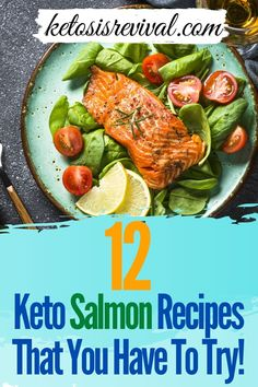 Salmon is versatile, delicious, and should be top on your Keto diet shopping list. Ketosis Revival shows you 12 distinct ways to prepare salmon that will keep you coming back for more. Switching up the ingredients will deliver a distinct flavor each and every time. This fish contains all the healthy fats that support a Keto food plan. It is low on carbohydrates and can be cooked in a number of ways. Each dish will leave you wanting for more. Find out more… #salmon #ketosalmon #salmonrecipes