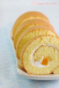 Mango Swiss Rolls