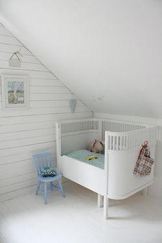 We gaan eens beginnen aan de babykamer / www.woonblog.be