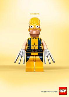 LEGO Mashups – Quand la fiction rencontre la fiction dans des publicités fictives