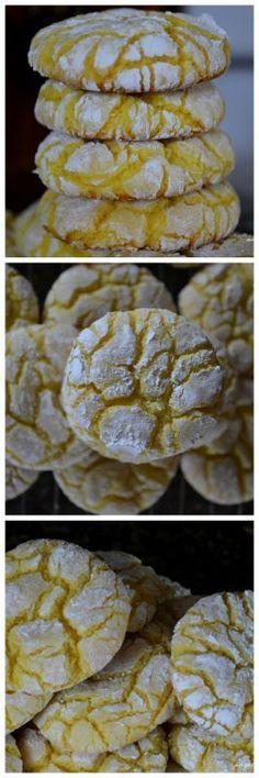 Angela Strand: Lemon Cake Mix Cookies