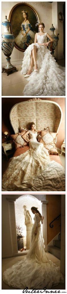 Royal Length #Train #WeddingDress