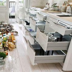 Cuisine - Kitchen - Organisation - Organization - Rangement - Storage