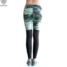 B.BANG Womens Running Pants Compression Running Tights Sport Legging Fitness Woman Trousers Yoga Leggings Female Sport Gym Pants