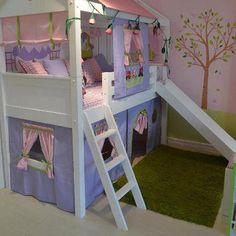 Para el dormitorio de una princesa