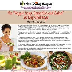 vegan vegetable soup vegetable salad green smoothie challenge