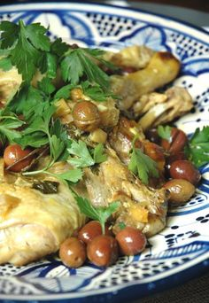 Tajine de poulet : recette tajine de poulet, tajine poulet citron confit et olives