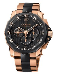 Corum Admiral's Cup Chronograph 48 Sport Rose Gold Watch at London Jewelers!