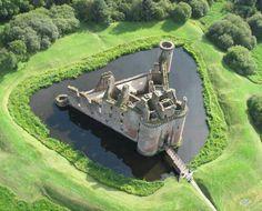 Caeverlock castle Scotland
