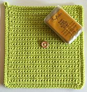 Ravelry: Travel Cloth pattern by Julieann Thornton A great way to use up those odd balls of cotton. Also great for charity, hiking and camping!
