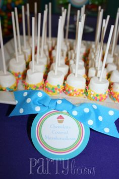 """Photo 16 of 18: Candy & Cupcakes / Birthday """"Sweet 1st Birthday""""   Catch My Party"""