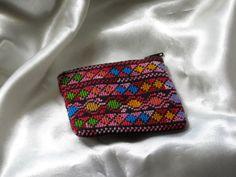 Embroided cross-stitch purse with Palestinian motifs -- 3