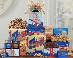 "Ghirardelli Chocolate Company Tower: ""America's oldest chocolate maker's traditional authenticity comes to life with this assortment of…"