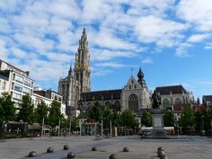 From graveyard to beautiful square, the Groenplaats of Antwerp