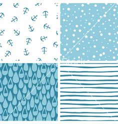 Free Vector | Doodle abstract patterns part 3 vector 1225243 - by stolenpencil on VectorStock®