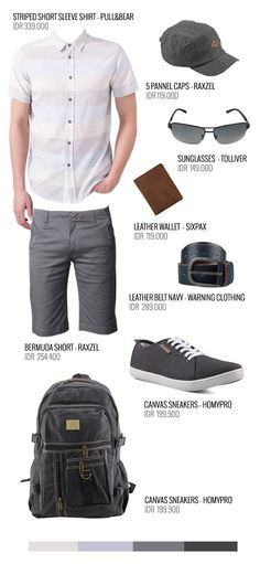 Outfit Idea - Urban Weekend Escape in Style - Light and Tight