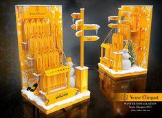 Veuve Clicquot 2017 Winter Installation on Behance