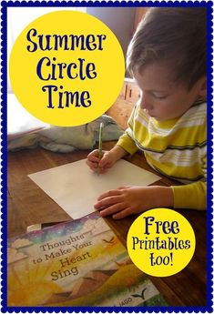 Summer Circle Time Plans and Goodies for You! — Preschoolers and Peace http://preschoolersandpeace.com/blog/summer-circle-time-plans-and-goodies-for-you