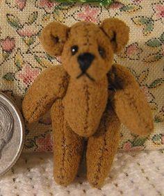 Dollhouse Stuffed Turtle World of Miniature Bears 1:12 Miniatures for Doll House