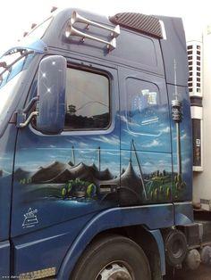 Аэрография на грузовиках » Аэрография » АВТО фото - тюнинг галерея