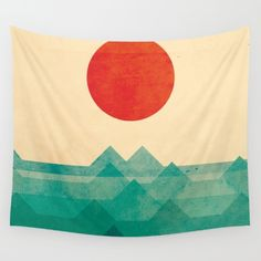 Buy The ocean, the sea, the wave Wall Tapestry by Picomodi. Worldwide shipping available at Society6.com. Just one of millions of high quality products available.