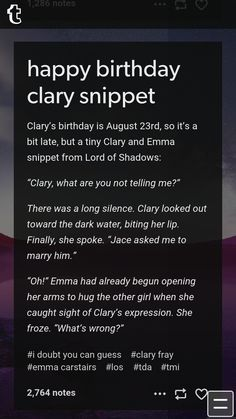 NO! IF CLARY DOESN'T MARRY JACE I AM SERIOUSLY GOING TO BURN THE ENTIRE TMI AND TDA SERIES!