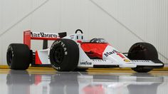 Just beautiful from any angle.  1987 McLaren-Porsche MP4/3 Formula One, chassis MP4/3/1