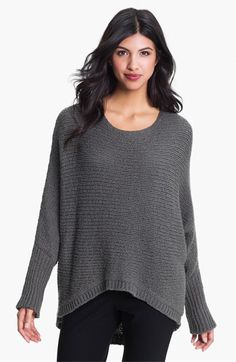 Eileen Fisher Bateau Neck Boxy Sweater (Online Exclusive) | Nordstrom