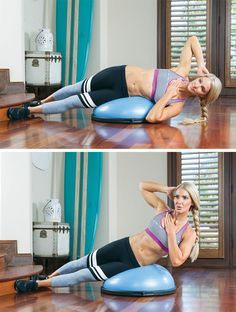 Turn your program on its edge with Lori Harder's killer core and upper body circuit.