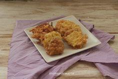 Calabacines al queso rebozados