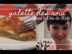 Aprenda a fazer a galette des rois, uma torta com massa folhada e recheio de creme de amêndoas que os franceses costumam comer no mês de janeiro. a receita c...