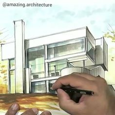 . ​(you can see the full video on our facebook page ) Smith House, Richard Meier by Ariel Brindis  Darien, Connecticut #USA  #sketch 2016  #pen  Visit @amazingskyscraper  www.facebook.com/amazingarchitecture✔️ #amazingarchitecture  #illustration  #draw  #pencil  #sketchbook #drawing #artsy  #arquitetura  #artwork  #creative #design #graphics #instaartist  #graphic  #paper #coloredpencils #architecture #archisketch #sketchaday  #artsketch  #markers #pathway  #dynascape #dynascapecolor…