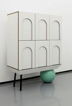 home decor simple Cabinet Furniture, Kids Furniture, Furniture Design, Geometric Furniture, Interior Desing, Luxury Dining Room, Rack Design, Cabinet Design, Home Accessories