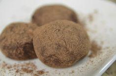 Receitas Saudáveis Para Saúde e Boa Forma: Trufa de chocolate saudável
