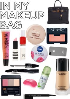 """""""Wat's in My Bag :)"""" by i-love-fashion-13 ❤ liked on Polyvore"""