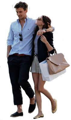 Some couples were just made for each other . Just look at them, their styles couldn't match more. Olivia Palermo and Johannes Huebl are . Style Blog, Mode Style, Fashion Blogger Style, Preppy Mode, Preppy Style, Her Style, Estilo Olivia Palermo, Couple Look, Couple Style