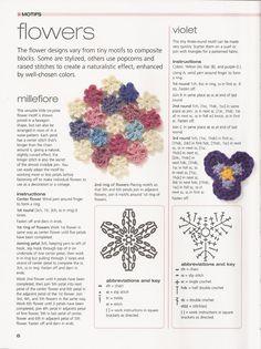 lindas florecitas para aplicaciones