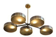 DW Dante Chandelier from PROFILES - Mid-Century / Modern Chandeliers - Dering Hall