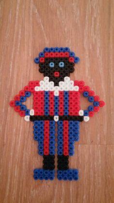 Strijkkralen Zwarte Piet Crafts For Girls, Diy For Kids, Diy And Crafts, Arts And Crafts, Clematis, Runes, How To Make Beads, Perler Beads, Kids Room