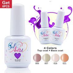Купить товар6 бутылка Gelaetist ультрафиолетовый гель польский комплект…