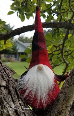 Our adorable Christmas Gnome will make the perfect addition to your Christmas decor collection! Set on your fireplace or snuggled in your tree, hes sure to bring a touch of whimsy to your holiday season. Youll receive a (one) handcrafted Tomte with Buffalo Plaid flannel fabric and
