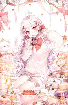 For all kinds of moe art. Especially cute anime girls and boys being cute. Content from anime, manga,. Anime Neko, Lolis Neko, Manga Kawaii, Loli Kawaii, Chica Anime Manga, Kawaii Anime Girl, Anime Art Girl, Anime Girls, Kawaii Art