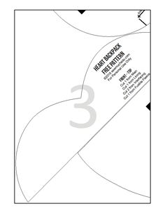 CRAFTS WITH QUIANE - Paps, Moulds, EVA, Felt, stitching, 3D Fofuchas: Tissue heart backpack Free Molde Linda!