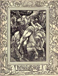 Walter Crane 'The Faerie Queene, Book VI' by Edmund Spenser